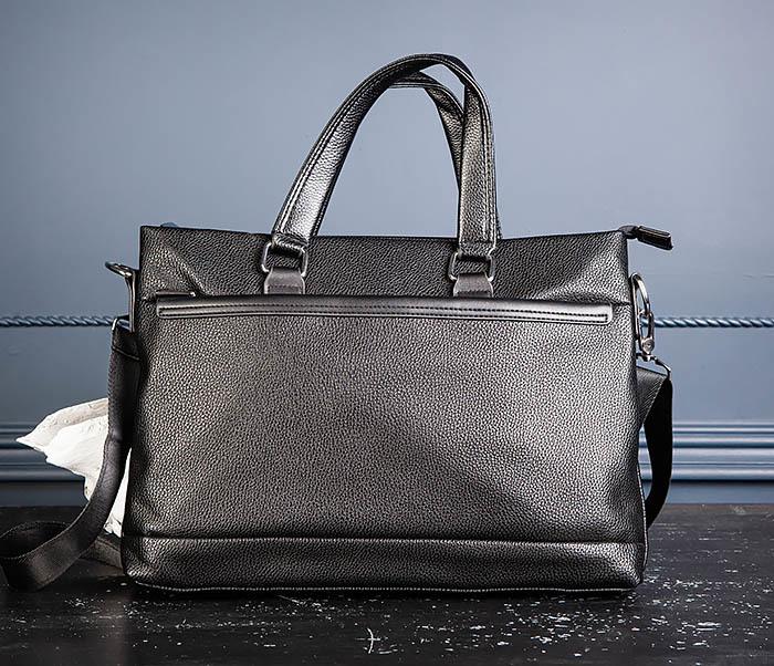 BAG533-1 Мужской портфель с ремнем на плечо фото 05