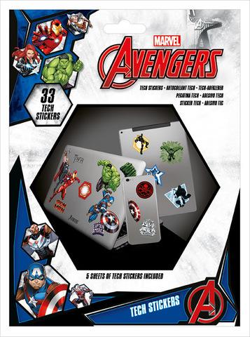 Набор Tech-стикеров Мстители (Avengers)