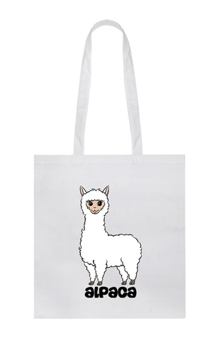 Хлопковая сумка/шоппер Alpaca (Алексей Горбут)