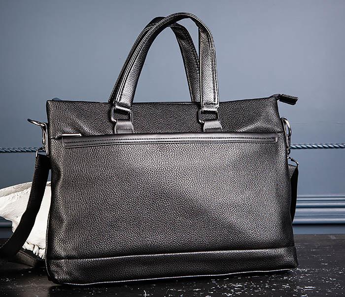BAG533-1 Мужской портфель с ремнем на плечо фото 06