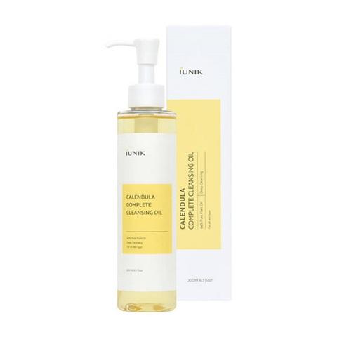 IUNIK Calendula Complete Cleansing Oil гидрофильное масло с экстрактом календулы