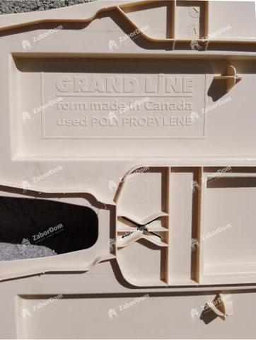 Фасадная панель Гранд Лайн Клинкерный кирпич Бежевый 1105х417 мм