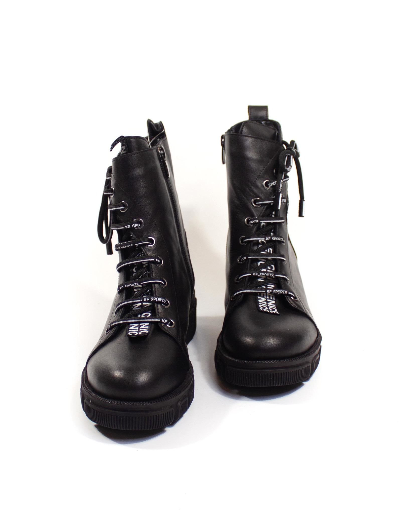 черные ботинки Grand Donna