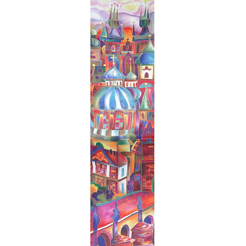 Шелковый шарф батик Прага