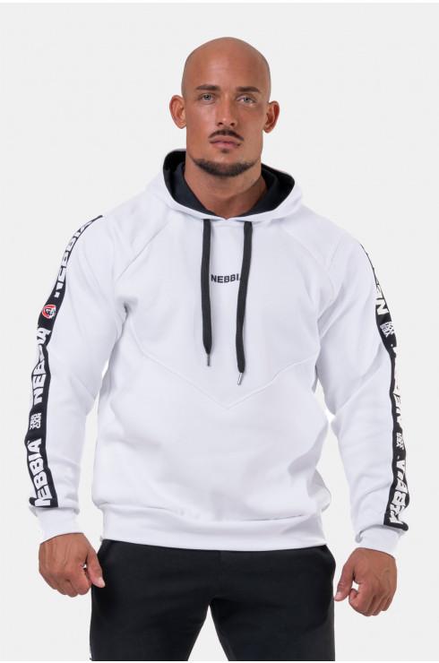 Мужская толстовка Nebbia Unlock the Champion sweatshirt 194 white