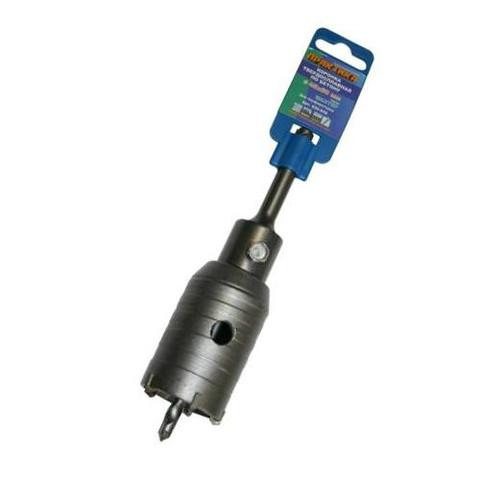 Коронка твердосплавная ПРАКТИКА SDS- Plus ударная 45 мм (1шт.) клипса (035-042)
