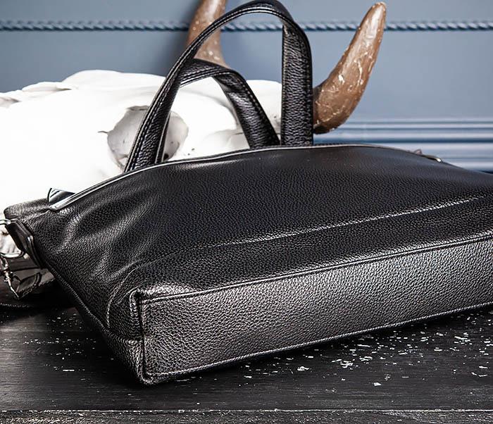 BAG533-1 Мужской портфель с ремнем на плечо фото 07