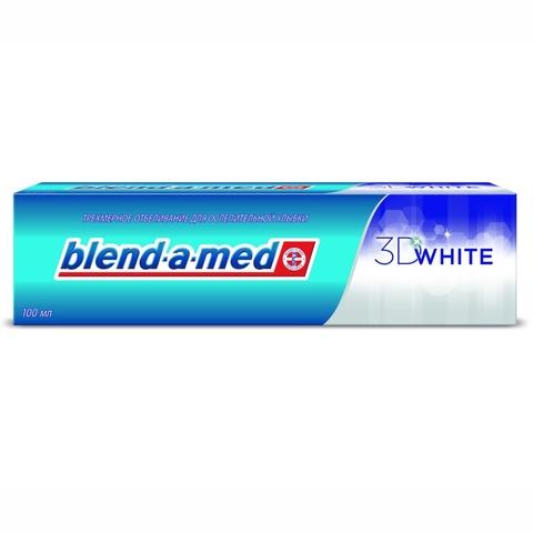 Зубная паста BLEND-A-MED Трехмерное отбеливание 100 мл
