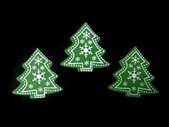Декор клеевой Новогодний 3-4 см, 1 шт.
