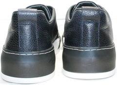 Осенне весенние кроссовки кеды мужские кожаные Luciano Bellini C6401 TK Blue.