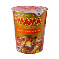 Лапша тайская быстрого приготовления Мама со вкусом кремовый Том Ям, 70г