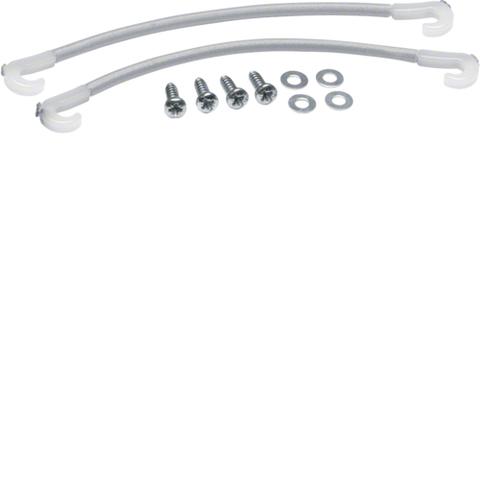 Набор для крепления к перф.монтажной панели нестандартного оборудования и кабелей
