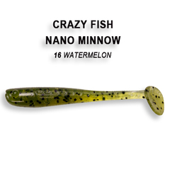Силикон CRAZY FISH NANO MINNOW 2.2