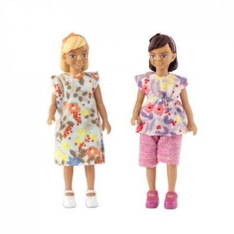 Игровой набор Lundby Две девочки 60806400