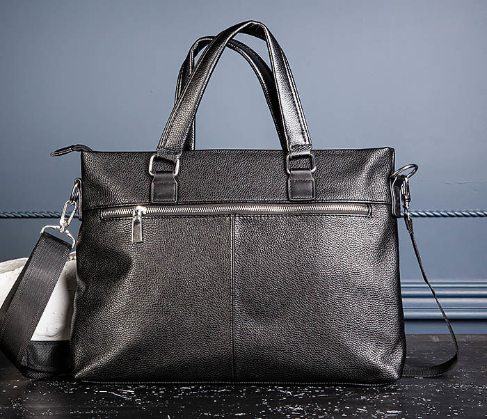 BAG533-1 Мужской портфель с ремнем на плечо фото 08