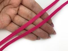 Резинка отделочная фуксия 5 мм