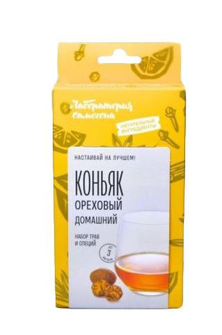 """Набор для настаивания """"Коньяк ореховый домашний"""" на 1 л напитка"""