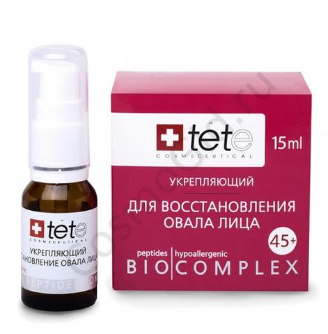 Биокомплекс для восстановления овала лица. Tete (Швейцария) 15 мл