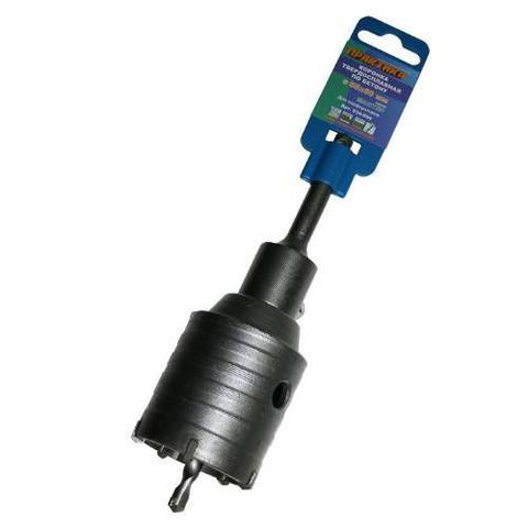 Коронка твердосплавная ПРАКТИКА SDS- Plus ударная 55 мм (1шт.) клипса (034-694)