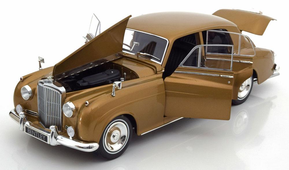 Коллекционная модель Bentley S2 1960 Golden
