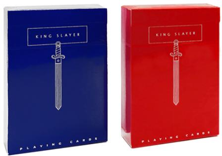 Карты Ellusionist King Slayer (Red&Blue)