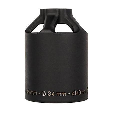Пега для самоката ETHIC Steel Pegs 12 STD 48mm (Black)