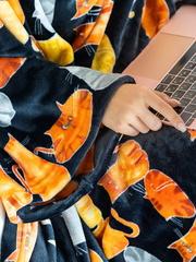 Плед с рукавами Gekoko «Кошачья Симфония» 3