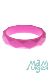 Молочный браслет из пищевого силикона МАМидея розовый