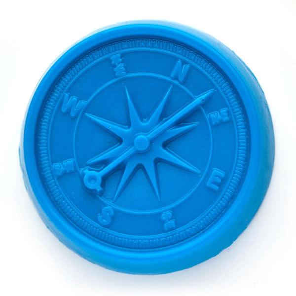 Пластиковая форма для мыла Компас