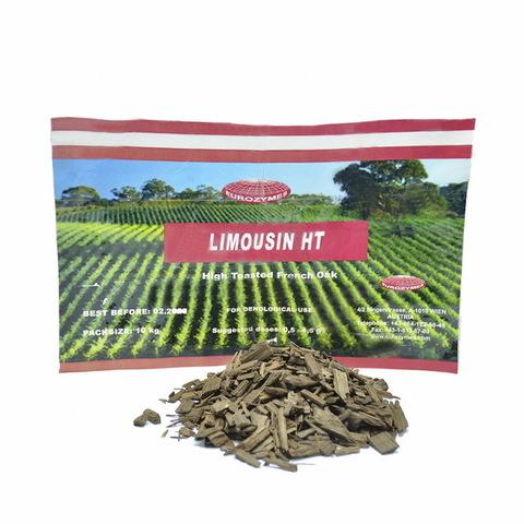 Чипсы дубовые Eurozymes Limousin HT 100 грамм от 67 до 200 литров самогона/спирта/вина