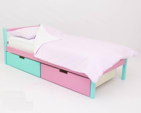 Кровать SKOGEN мятный-лаванда