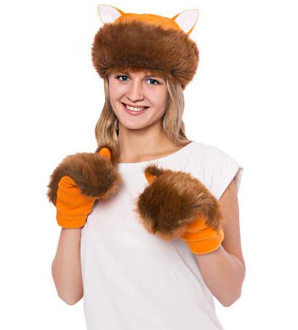 костюм Лиса мини