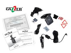 Купить автомобильный видеорегистратор Gazer H521.
