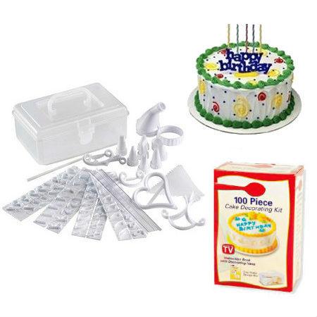 """Кухонные принадлежности и аксессуары Набор для украшения торта """"Кондитер"""" (100 piece cake decoration kit) 9e734f3f454897b6281aa01409528f80.jpg"""