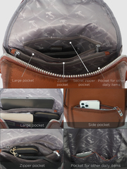 Рюкзак женский 2019157A K252 marrone GF