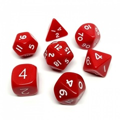 Набор кубиков CHESSEX для ролевых игр, 7шт