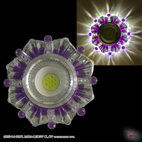 42235-9.0-001PL MR16+LED3W CL/PP светильник точ.