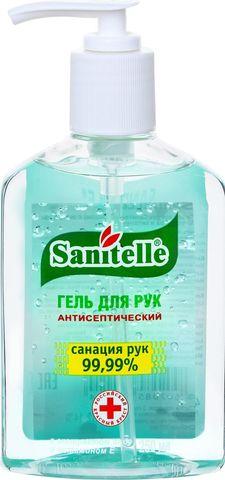 Гель для рук антисептический «SANITELLE» Алоэ с витамином Е 250 мл