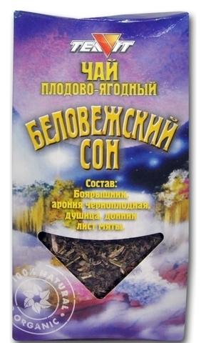 Чай напиток Беловежский сон, 50 гр. (Тиавит)