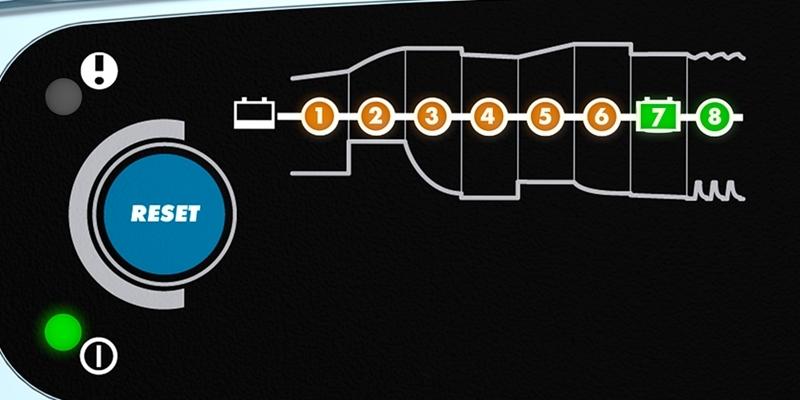 Зарядное устройство для 12В АКБ (8 этапов, 5‐120Aч) LITHIUM XS