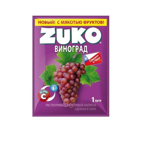 Растворимый напиток ZUKO Виноград 1кор*8бл*12шт,25 г