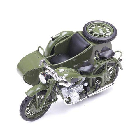 Motorcycle M-72 IMZ Ural sidecar 1955 khaki 1:24 DeAgostini Moto Legends USSR #1