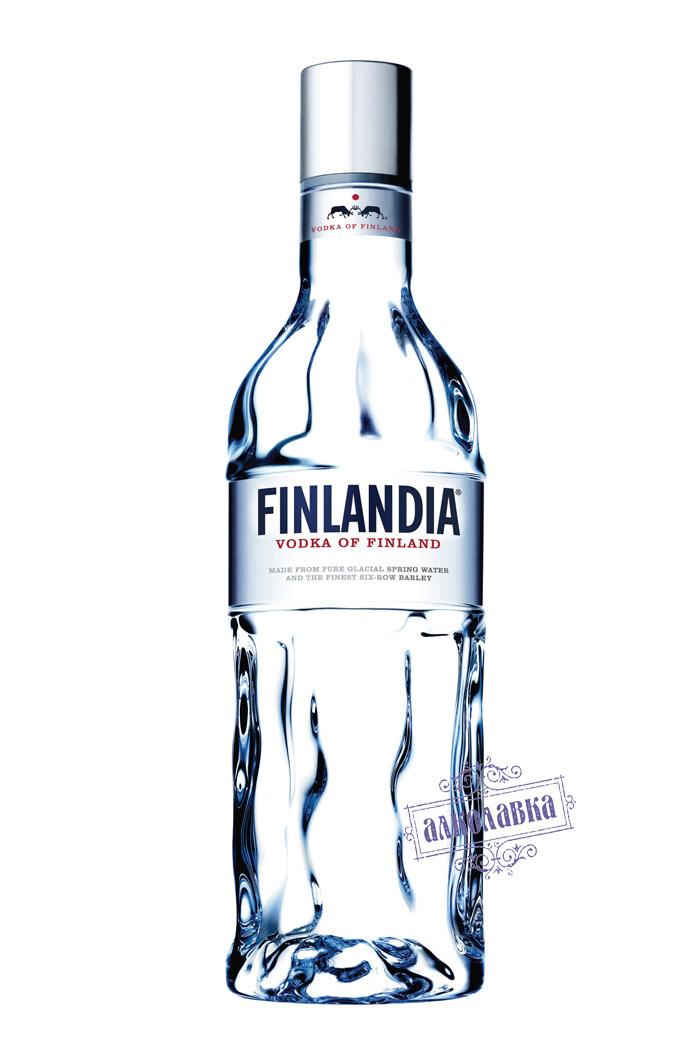ФИНЛЯНДИЯ. ВОДКА КЛАССИЧЕСКАЯ 40%. В ПОДАРОЧНОЙ УПАКОВКЕ. 0,7 Л