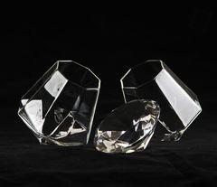 Бокал для напитков Diamond, 350 мл, стекло, фото 6