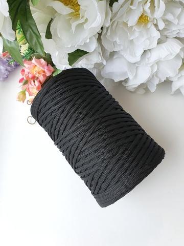 Черный Лайт 3 мм Полиэфирный шнур