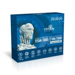 Готовый комплект усиления сотовой связи  Titan-1800/2100/2600