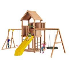 Детская площадка Jungle Palace + Swing Module Xtra + рукоход + гнездо