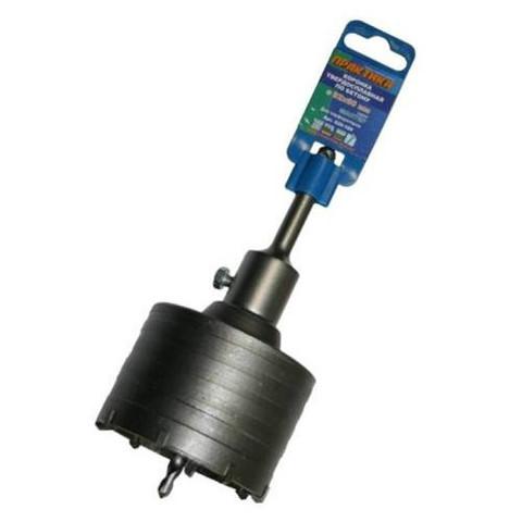 Коронка твердосплавная ПРАКТИКА SDS- Plus ударная 82 мм (1шт.) клипса (035-189)