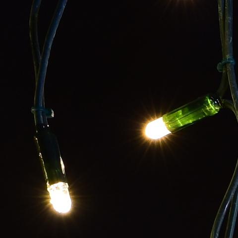 теплый белый цвет гирлянда бахрома 5 м на 0,7м ПВХ LED