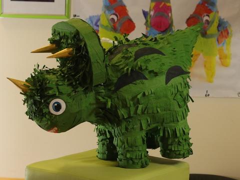 Пиньята динозавр Цератопс